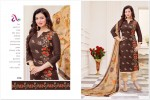 Cotton jacquard embroidery salwar suit dress material 014
