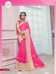 Embroidery Fancy Saree and Embroidery border 7745B