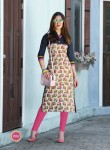 Lawn Cotton Printed Kurtis - L Size 7002