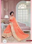 Embroidery Fancy Saree and Embroidery border 7745A