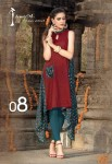 Jaipur Cotton Printed Casual Kurta | Maroon Colour