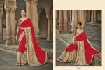 Embroidery Fancy Saree and Embroidery border 7851