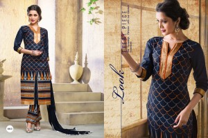 Lawn Cotton Embroidery Salwar suit dress material 1013