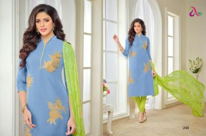 Chanderi Salwar suit dress material 248